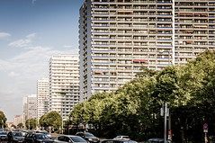 Berlino Est (Andreas Laimer) Tags: berlino germania street edifici colore vintage sony nex6 1650 oss