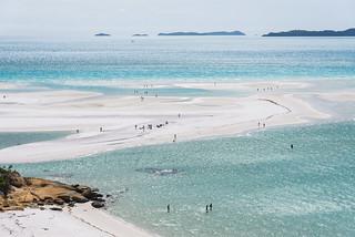 Whitsunday Islands, Australia - Whitehaven Beach (Paradise On Earth)