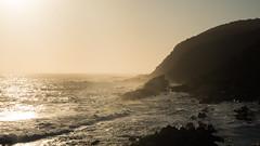 evening_rush (AnteKante) Tags: africa eveningsun meer afrika nationalpark wellen natur sea blue klippen abend blau abendrot southafrica südafrika clif evening wilderness