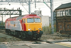 Virgin Trains Class 57/3 57311 'Parker' - Stockport (dwb transport photos) Tags: virgintrains thunderbird locomotive 57311 parker stockport