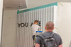 1-117 (Corey Seith Burns) Tags: graffiti art artist artists illusions losangeles hollywood paint lettering handlettering artchemists museumofillusions street california cali