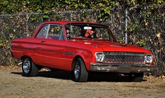 1962 Ford Falcon 2-door sedan (Custom_Cab) Tags: 1962 ford falcon deluxe 2door 2 door sedan red car futura