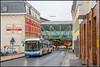 30-12-17 SWS HESS SwissTrolley 951, Wuppertal - Rubensstr (Julian de Bondt) Tags: sws hess trolley trolleybus linie 683 wuppertal
