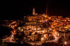 4/01/2018 (Nunù Photography) Tags: night italia italy matera sassi landscape urban light nikon
