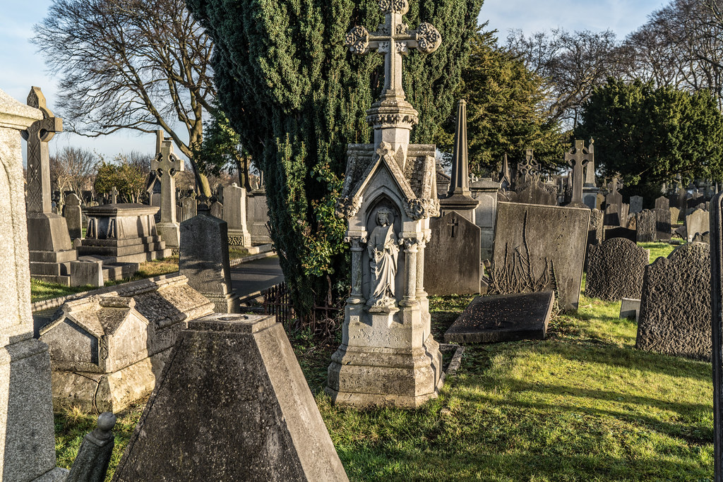 VISIT TO GLASNEVIN CEMETERY IN DUBLIN [FIRST SESSION OF 2018]-134923