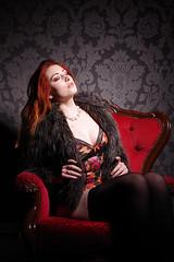 sat back (David Blandford photography) Tags: sinoparin southamptonmodel red hair