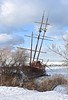 winter ship wreck (tonnycdl) Tags: winter lakeontario shipwreck