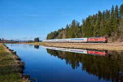 DB 218 487-7 (railphoto) Tags: rabbit db br218 ic ruderatshofen aitrang bahn tal ferrovia treno zug train