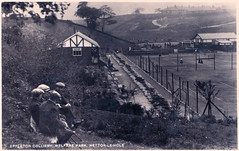 Hetton-le-Hole - Eppleton Colliery Welfare Park (pepandtim) Tags: postcard old early nostalgia nostalgic hetton hole eppleton colliery welfare park national series ml 15091938 1938 richardson grove crescent kingston thames surrey change wedding 34hlh42 british prime minister neville chamberlain plane aircraft berchtesgaden adolf hitler czechoslovakia demands