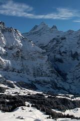 Schreckhorn ( BE - 4`078 m - Nördlichster Viertausender der Alpen - Erstbesteigung 1861 - Berg montagne montagna mountain ) in den Berner Alpen - Alps im Berner Oberland im Kanton Bern der Schweiz (chrchr_75) Tags: christoph hurni schweiz suisse switzerland svizzera suissa swiss chrchr chrchr75 chrigu chriguhurni chriguhurnibluemailch dezember 2017 dezember2017 albumzzz201712dezember albumschreckhorn schreckhorn alpen alps viertausender berg montagne montagna mountain kantonbern berner oberland lbumschreckhorn