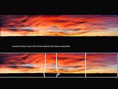 Group42Dec2017_final_1024w (Chuckcars) Tags: montrose colorado usa sunset black canyon national park gunnison red orange uellow autumn panorama panoramic pano