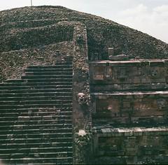 Temple (marykatharinepayne1) Tags: teotihuacan hasselblad 120mm stone pyramid travel film