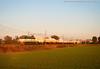 Cisterne al tramonto (Samuele Granata) Tags: e655 520 cargo ti trenitalia fs ferrovie dello stato rfi arena po pv pavia oltrepo pavese ferrovia ralways railroad alessandriapiacenza alpc nikon d3000