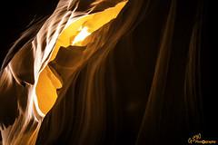 Orange Peel (Gavmonster) Tags: gswphotography nikon d7500 nikond7500 dslr upperantelopecanyon canyon slotcanyon arizona page usa america unitedstates navajo sand walls rock sandstone smooth thecrack erosion water flooding scenic stunning orange