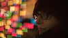 BOKEH SHAPES (Jovan Jimenez) Tags: portrait sony a6500 metabones speedbooster nikkor 50mm f12 square bokeh shape ilce 6500 alpha focal reducer night christmas lights xmas cinematic nikon people girl glasses hat cap winter