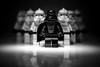 Welcome to the dark side... (jonbawden50) Tags: lego star wars darth vader macro bnw bw mono fun toys figures minifigs