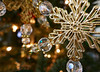 Star lights (Monceau) Tags: christmas star ornament lights gold sparkling sparkle memberschoicebokeh bokeh macromondays macro texture