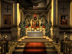 Mass for Christmas (Archdiocese of Lepanto) Tags: firestormsecondlife lepanto church slchurch catholic slcatholic materdolorosa archdioceseoflepanto virtualchurch christmas masssecondliferegionrothkosecondlifeparcelcatholicchurcharchdioceseoflepantomaterdolorosachurchsecondlifex48secondlifey12secondlifez22