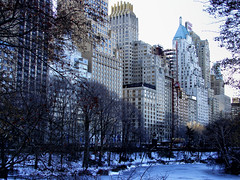 [2005] Central Park South (Diego3336) Tags: centralpark centralparks centralparksouth 59thstreet west59thstreet w59thstreet essexhouse ritzcarlton thepond pond architecture building buildings concrete concretejungle park snow frozen water frost winter urban nature skyline skyscraper skyscrapers newyork newyorkcity ny nyc manhattan unitedstates usa us