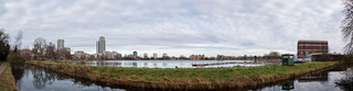 Stoke Newington west reservoir and the New River