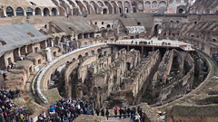 Gladitorial Arena. (Flyingpast) Tags: colosseum rome italy theatre arena gladiator site city vacation building ancient old roman death destruction empire people architecture