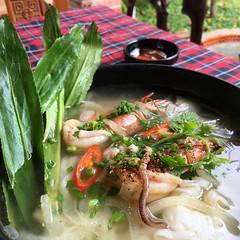 Seafood pho (Tanenhaus) Tags: vietnam phuquoc island onglang cami restaurant seafood pho noodle soup