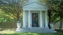 HOTT-John.Nellie.Maxwell.Frances-Mausoleum-c1935-Monticello,IL (RLWisegarver) Tags: piatt county history monticello illinois usa il
