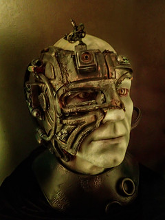 A Borg-assimilated Captain Picard at the MoPop Museum in Seattle Washington