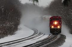 Comin' at ya! (arcticrail) Tags: trains train railroad railroading railfan cp canadian pacific ns norfolk norfolksouthern southern hudson lake indiana in ind action nikon