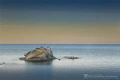 The Stone, Horns (Michiyo Photo) Tags: cyprus stone rock sea ocean line coast beach seascape horizon 2016 2018 travel holiday friend trip blue peace quiet silence silent relax meditation nature natural shape imagination wave 5dmarkiii canon kurosawamichiyo cliff