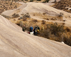 034 Preparing The Patient (saschmitz_earthlink_net) Tags: 2018 california orienteering vasquezrocks aguadulce losangelescounty laoc losangelesorienteeringclub