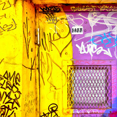 ( Keep On Roamin' ) (Wandering Dom) Tags: wall door hinges people humans being nothingness life reality dreams earth multiverse expression impression time evolutionary acts roam wandering graffiti writing