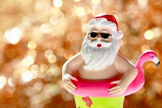 Santa Surf and Sunshine