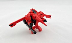 Swordfish Mech (Deltassius) Tags: mobile frame zero mech mecha robot space war military lego swordfish spaceship cowboy bebop
