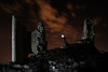 Capturing the Caudilla castle (XVth century) at midnight  - Santo Domingo-Caudilla (Toledo, Spain) (Juan María Coy) Tags: night noche estrella verylongexposure sky cielo nocturne nocturna stars estrellas aire libre castillalamancha españa spain star samyang10mmf28edasncscs canon7dmarkii castillo castle santodomingocaudilla toledo longexposure lightpainting