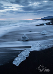 Melting Gems II - Jokulsarlon, Iceland (macdad1948) Tags: icebeach icelagoon vik iceland jok iceberg sea jokulsarlon beach sunset