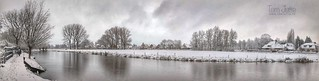 Winter Panorama, Odijk, Netherlands - 0425
