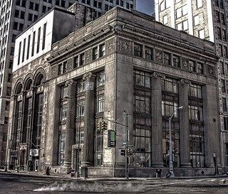 Detroit Michigan - The Olde Building ~ Historic District  Downtown