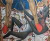 2017/12/02 16h06 Maître des Florida, «Triptyque Spiridon» (vers 1450-1475), détail, Musée Hyacinthe Rigaud (Valéry Hugotte) Tags: 24105 hyacintherigaud maîtredesflorida perpignan triptyquespiridon canon canon5d canon5dmarkiv diable démon détail monstre moyenâge musée occitanie france fr