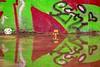 Danbo ❤ (ღ˘⌣˘ღ) (Saioa Elizondo) Tags: danbo reflection reflejo barakaldo euskalherria euskadi nightshot nikon7200 nikon nikonphotography nikonflickraward graffiti sigma toy art skatepark