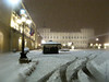 Nevicata in Piazza Castello (Ivan Pistone) Tags: snow neige neve turin torino piazza castello palazzo reale royal palace nuit notte night winter hiver inverno snowfall nevicata