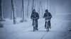 Snow blizzard ... (Alex Verweij) Tags: fiets fietsen fietsers sneeuw blizzard storm fongerspad almere filmwijk alexverweij canon 5d 10dec 2017 fietspad lumiere lumierepark jongens boys ploeteren slippery glad ice