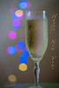 Happy New Year from me!!! (ImagesByLin) Tags: happynewyear hny celebrate celebration toast cheers enjoy fun bokeh lights christmaslights champagne bubbles dof macro