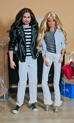 Evan Tompson and Randi Lavonne (Fake Royalty) Tags: barbie heidi klum ken pirates caribbean