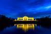 Gloriette, Vienna (Markus Hill) Tags: gloriette vienna wien architecture imperial schönbrunn sunset bluehour blue light exposure reflection austria sky cloud city monument park österreich at
