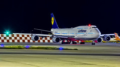 "Lufthansa Boeing B747-8 D-ABYC ""Sachsen"" Bangalore (BLR/VOBL) (Aiel) Tags: lufthansa boeing b747 b7478 dabyc sachsen bangalore bengaluru canon60d"