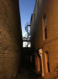 Upper Fells Point ~ alley view