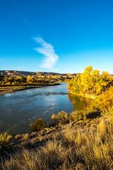 Colorado River (mbinebrink) Tags: colorado river sunrise autumn october coloradoriver
