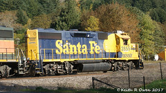 BNSF 2855 (GP39-2) (youngwarrior) Tags: homevalley washington local bnsf santafe atsf gp392 locomotive train railroad