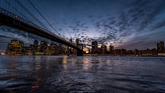 New York City (Marco Carbone Photography) Tags: nikon usa bridge nyc blue photooftheday skyline skyscrapers sky architecture architettura art lights travel landscapes america brooklyn manhattan viaggi